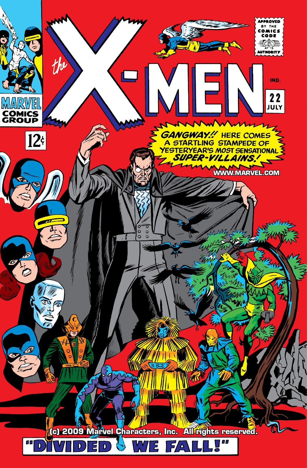 Uncanny X-Men (1963) issue 22 - Page 1