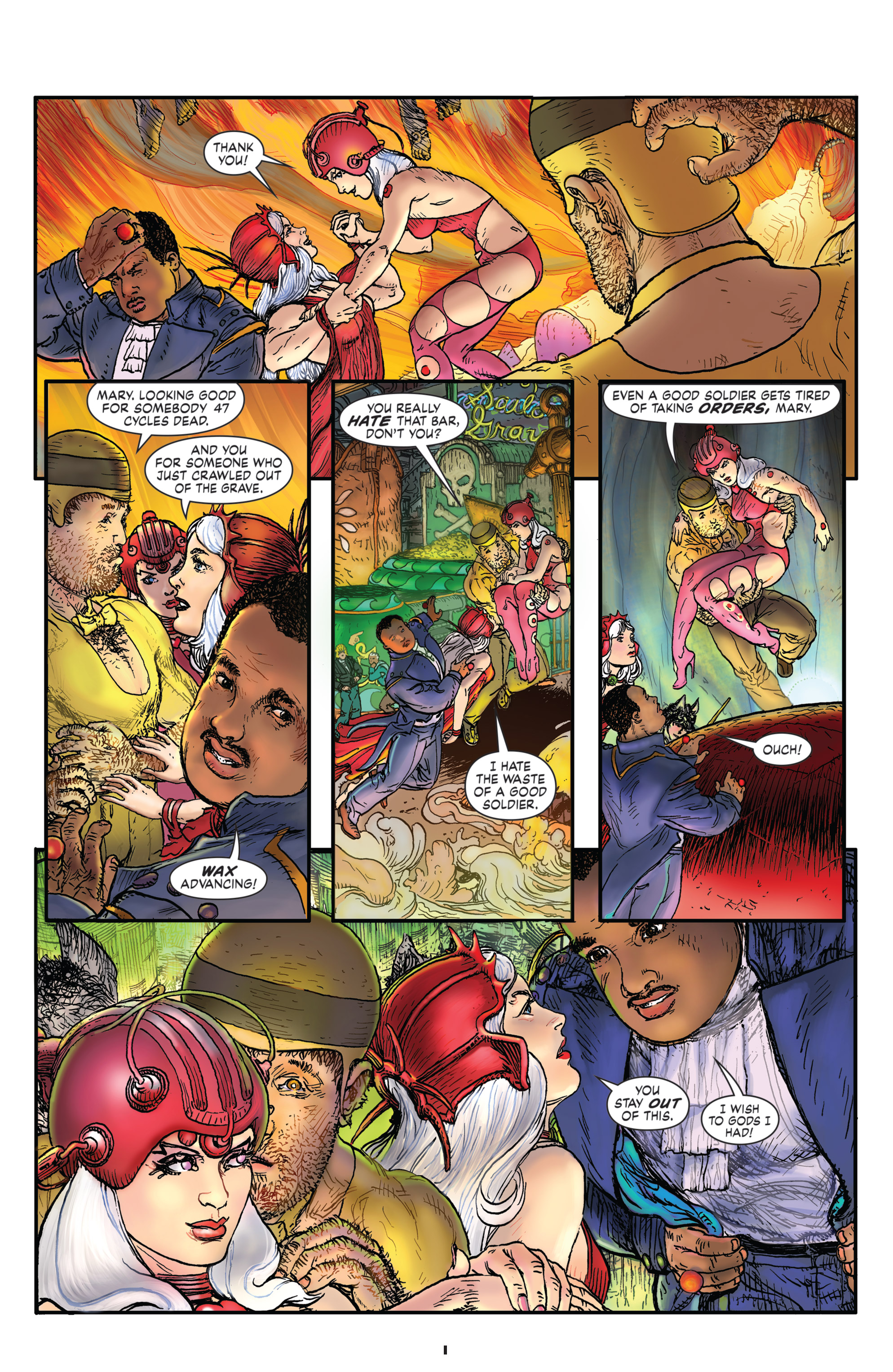 Read online Starstruck: Old Proldiers Never Die comic -  Issue #4 - 3