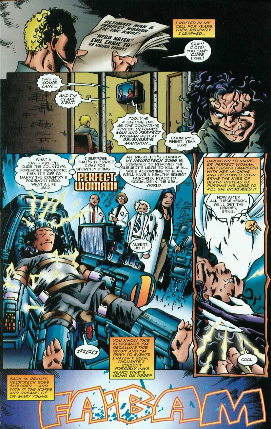 Read online Evil Ernie vs. the Superheroes comic -  Issue #1 - 9