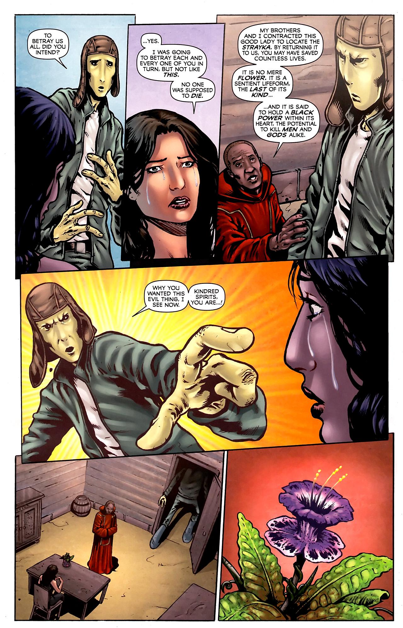 Read online Stargate Vala Mal Doran comic -  Issue #3 - 14