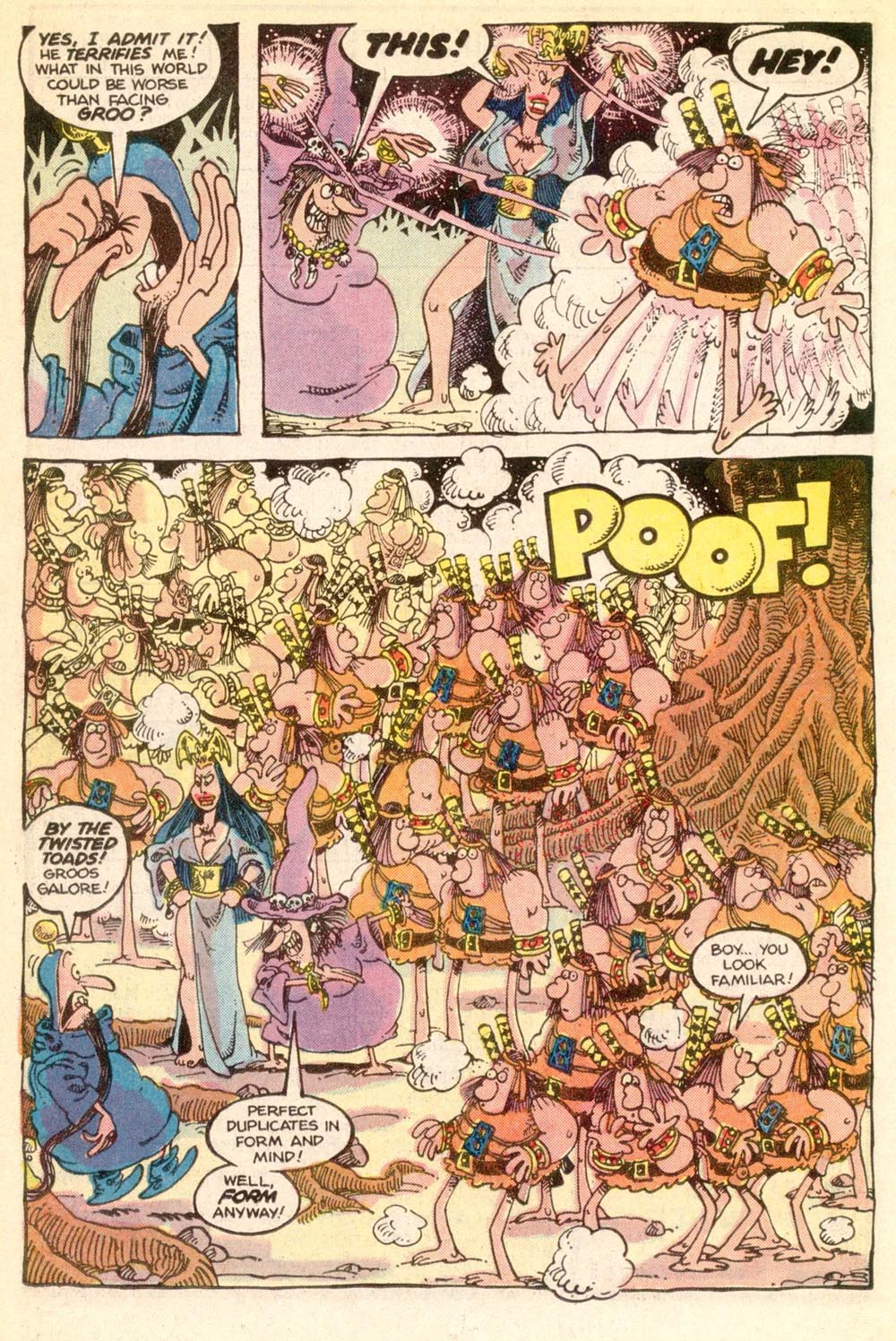 Read online Sergio Aragonés Groo the Wanderer comic -  Issue #21 - 18