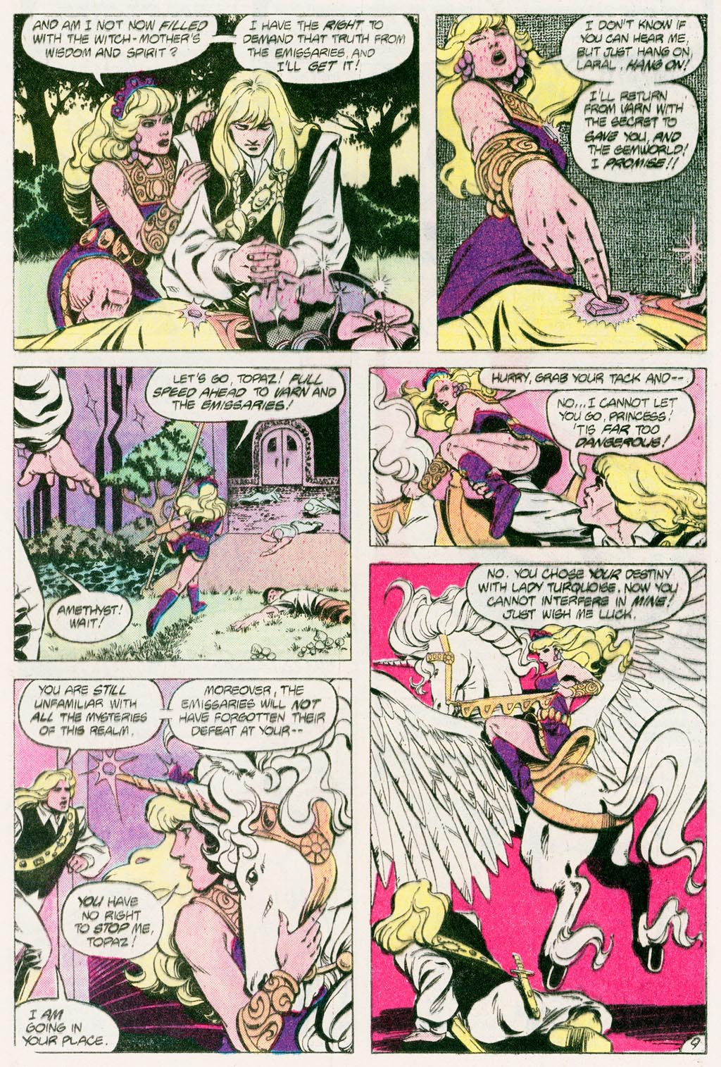 Read online Amethyst (1985) comic -  Issue #12 - 12
