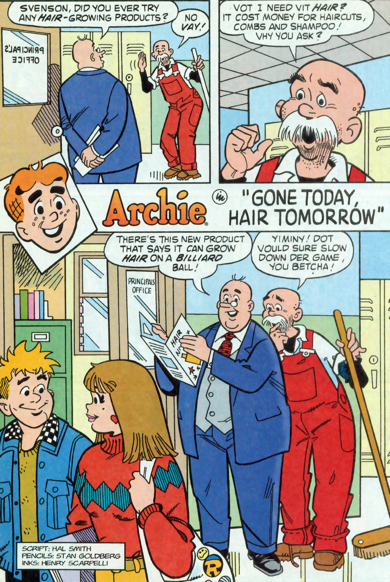 Read online Archie (1960) comic -  Issue #468 - 9