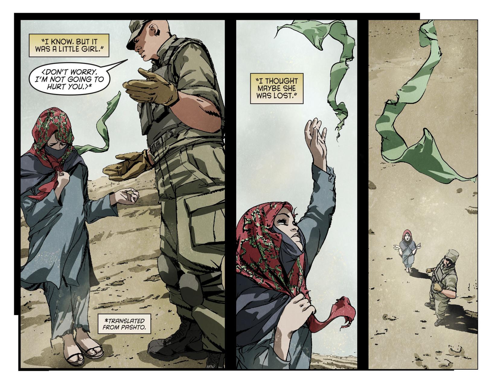 Read online Arrow [II] comic -  Issue #4 - 7