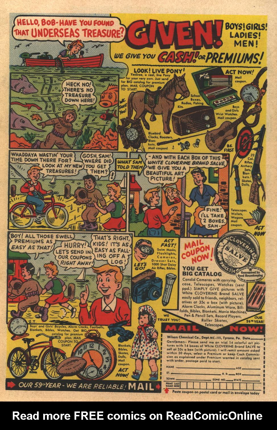 Read online All-Star Western (1951) comic -  Issue #77 - 36