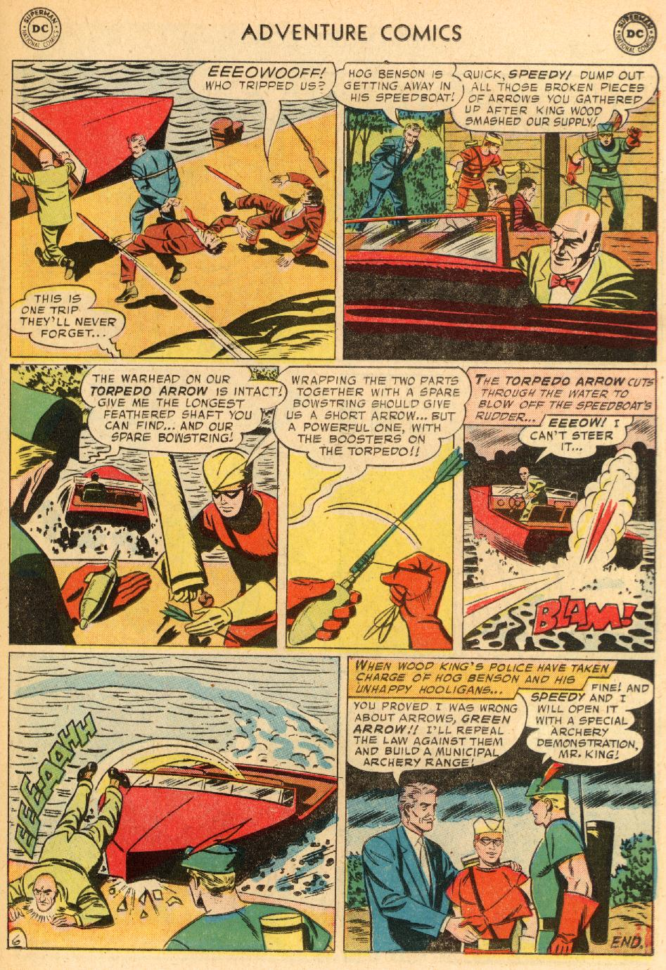Read online Adventure Comics (1938) comic -  Issue #249 - 23
