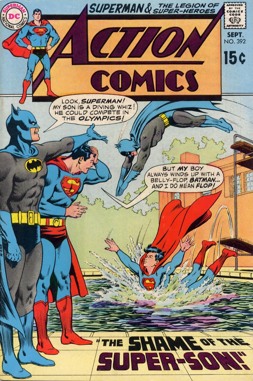 Read online Action Comics (1938) comic -  Issue #392 - 1