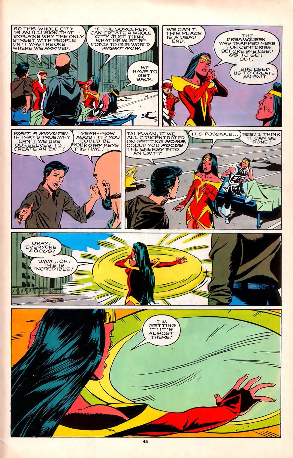 Read online Alpha Flight (1983) comic -  Issue #75 - 39
