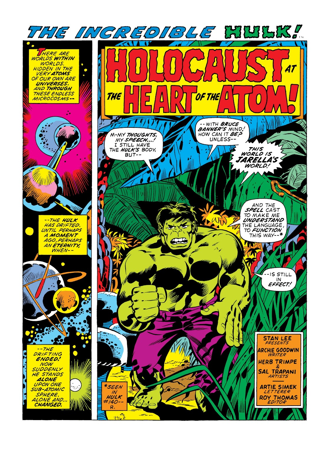 Read online Marvel Masterworks: The Incredible Hulk comic -  Issue # TPB 8 (Part 3) - 62