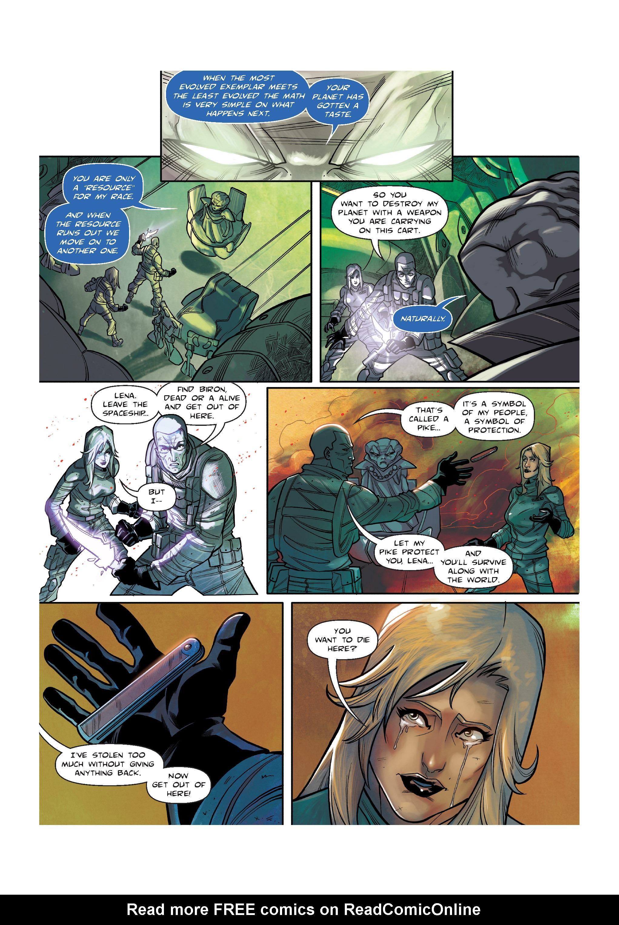 Read online The Shadow of a Terrible Thing comic -  Issue # TPB - 130