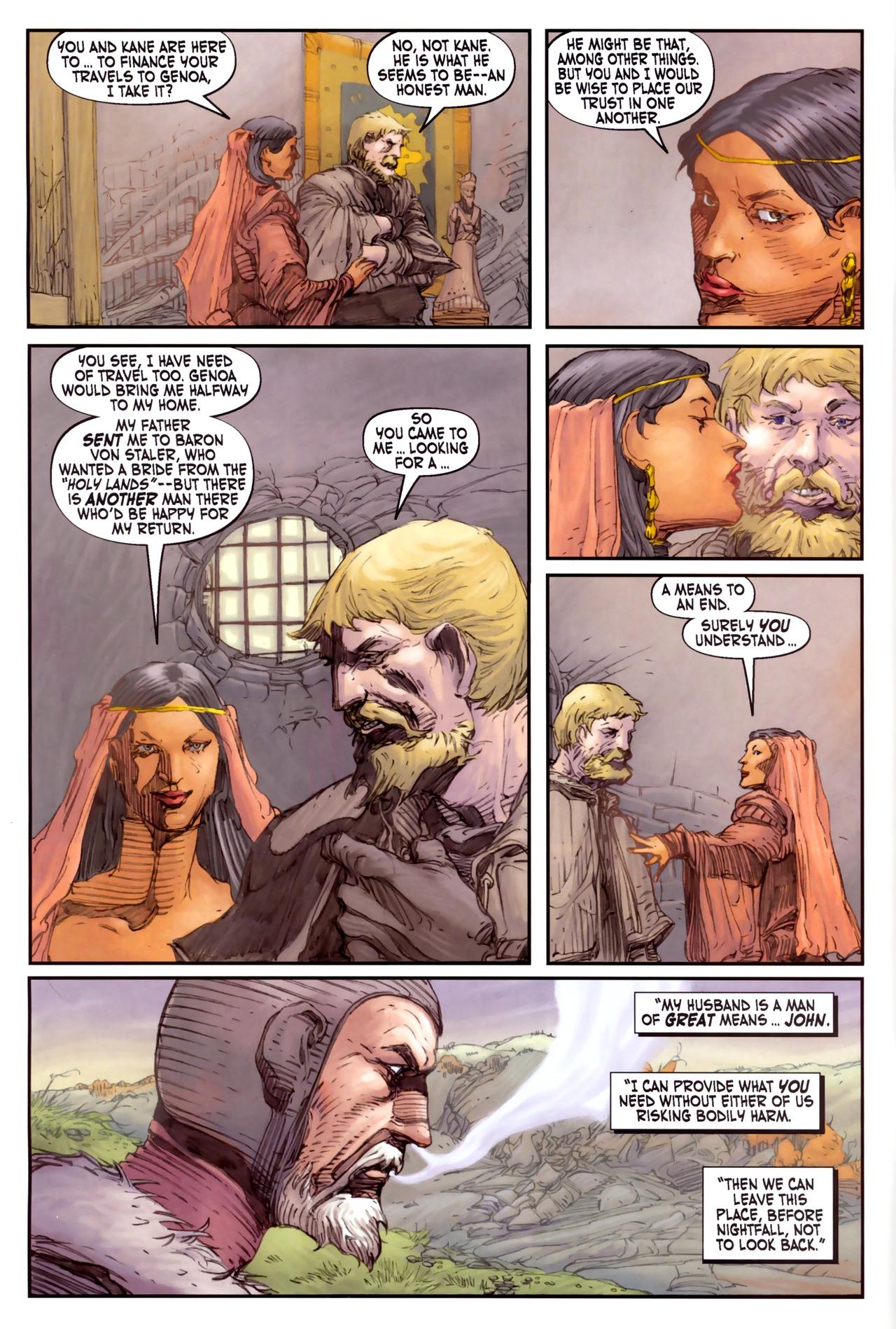 Read online Solomon Kane comic -  Issue #3 - 8