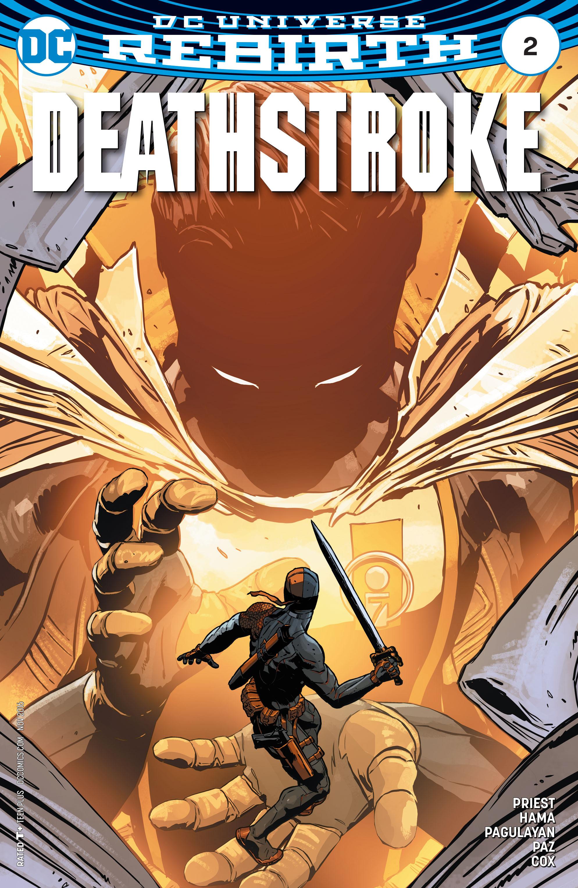 Deathstroke (2016) 2 Page 1