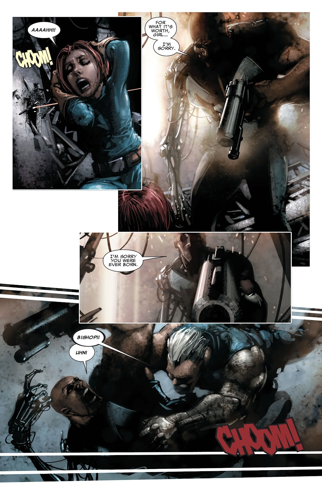 Read online X-Force/Cable: Messiah War comic -  Issue # _TPB (Part 2) - 129