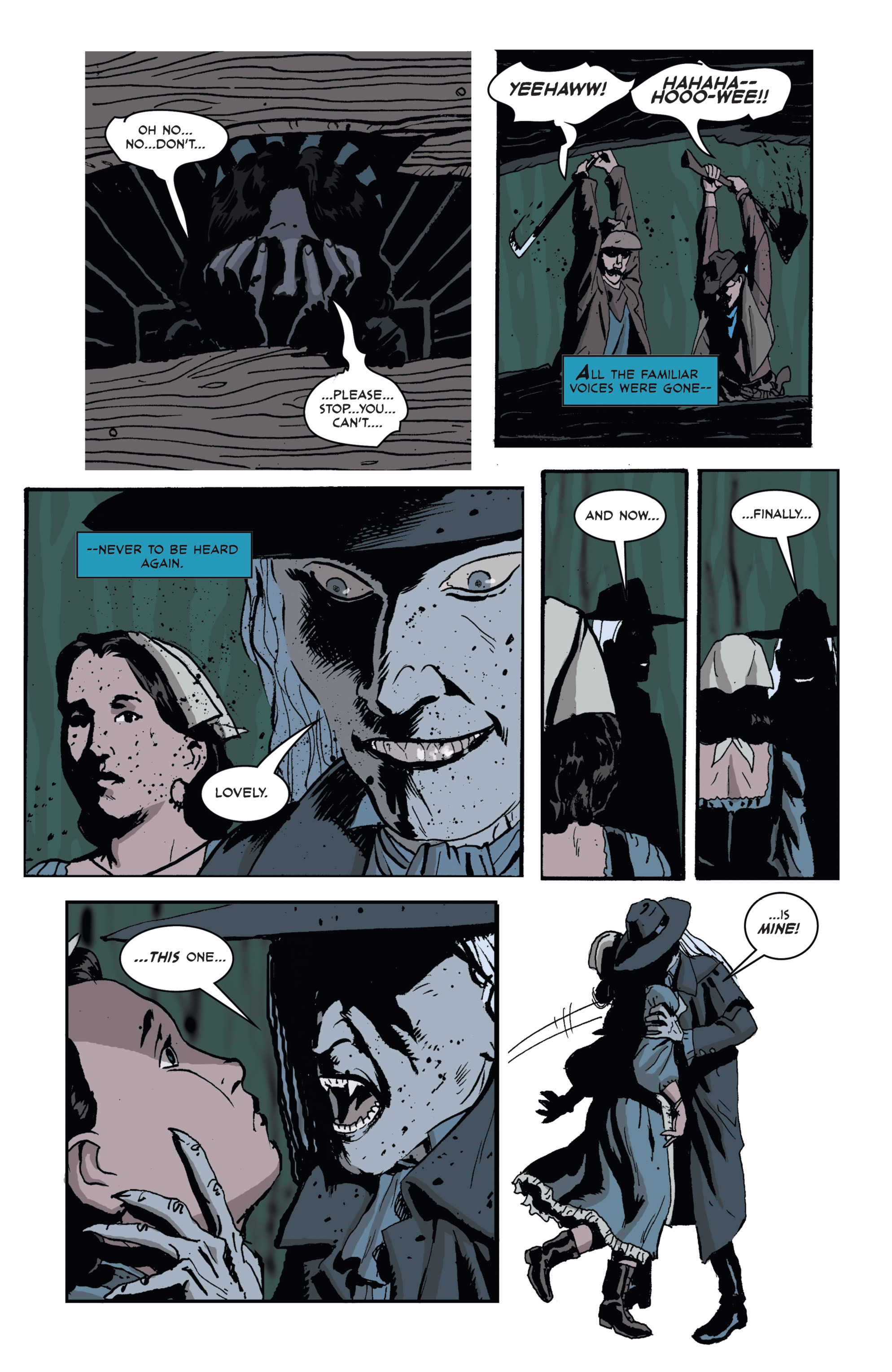 Read online 3 Devils comic -  Issue #1 - 12