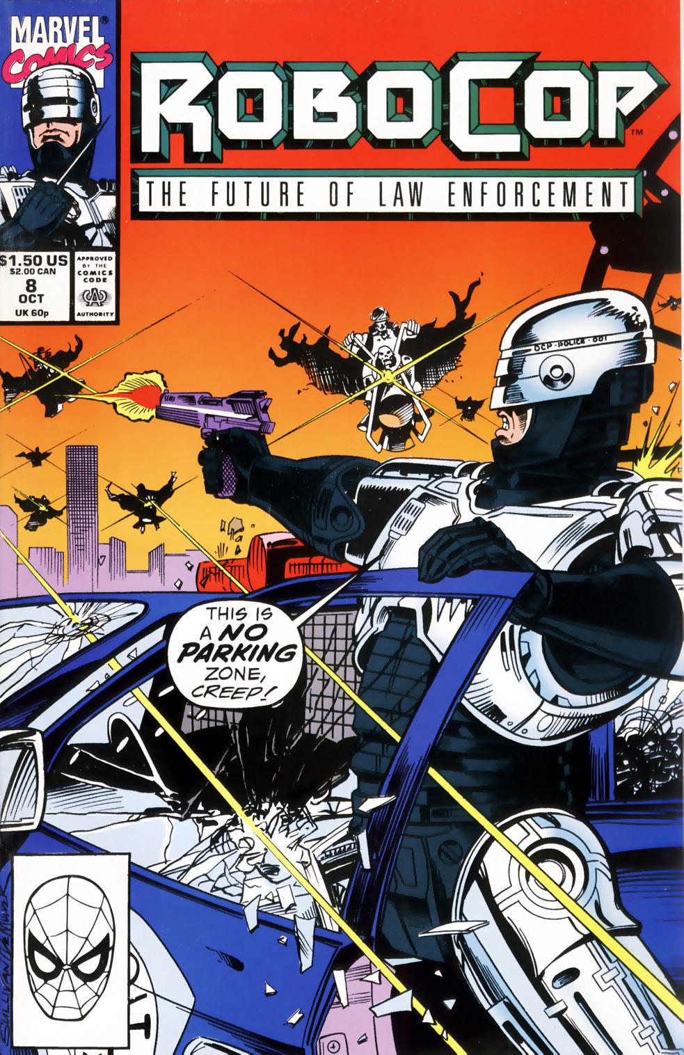 Read online Robocop (1990) comic -  Issue #8 - 1