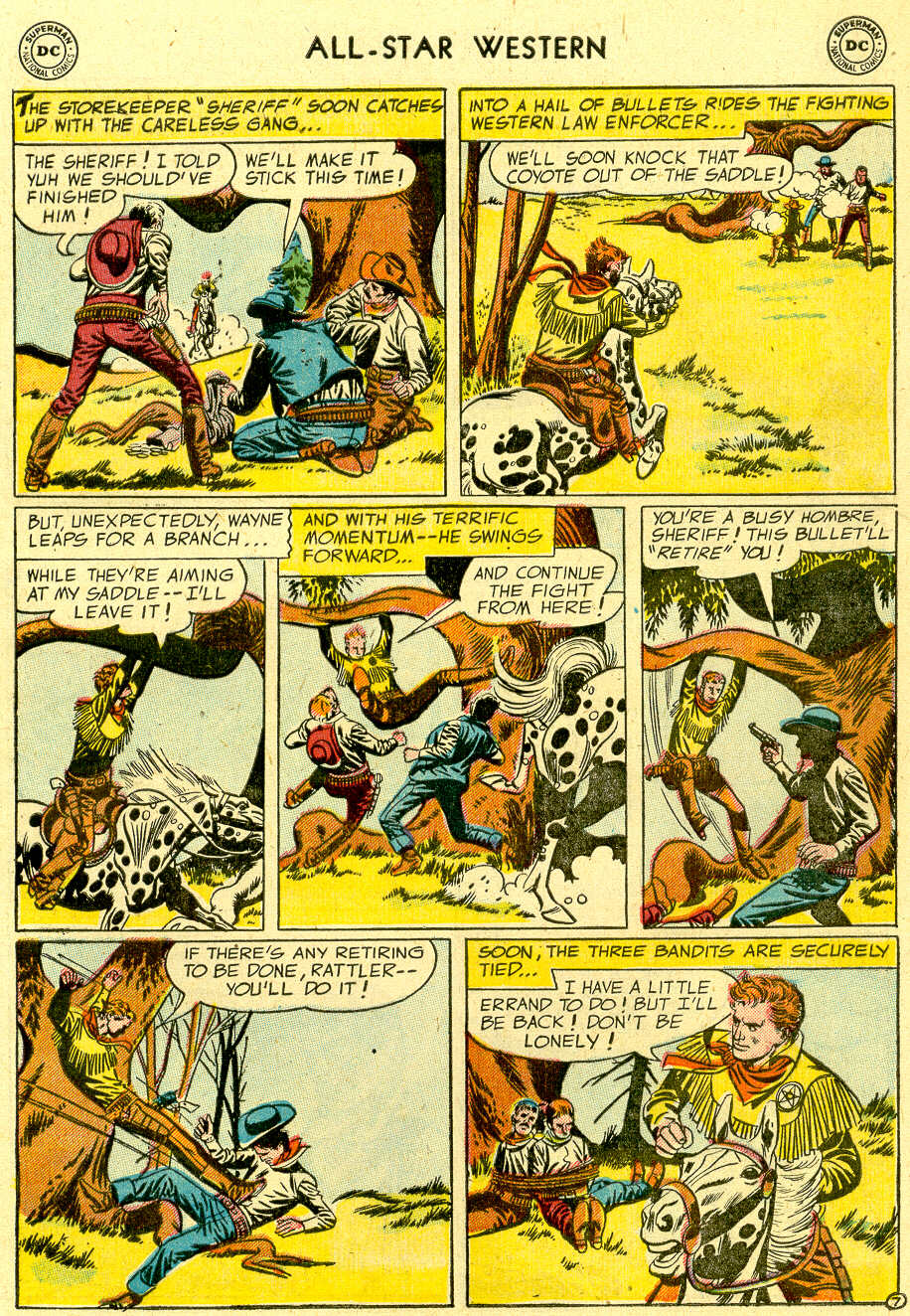 Read online All-Star Western (1951) comic -  Issue #83 - 9