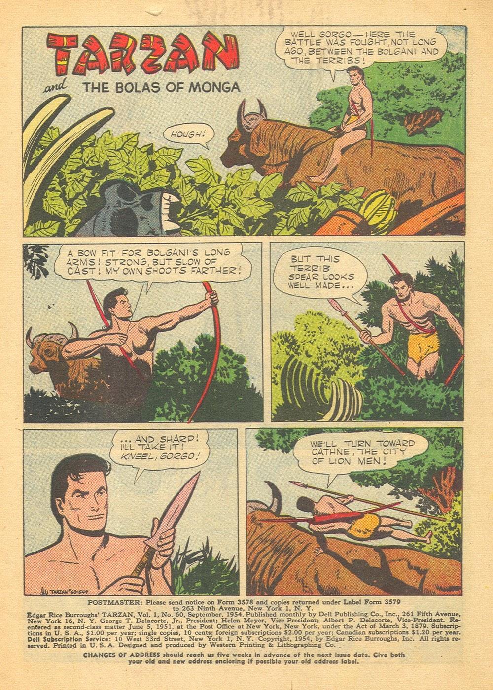 Tarzan (1948) issue 60 - Page 3
