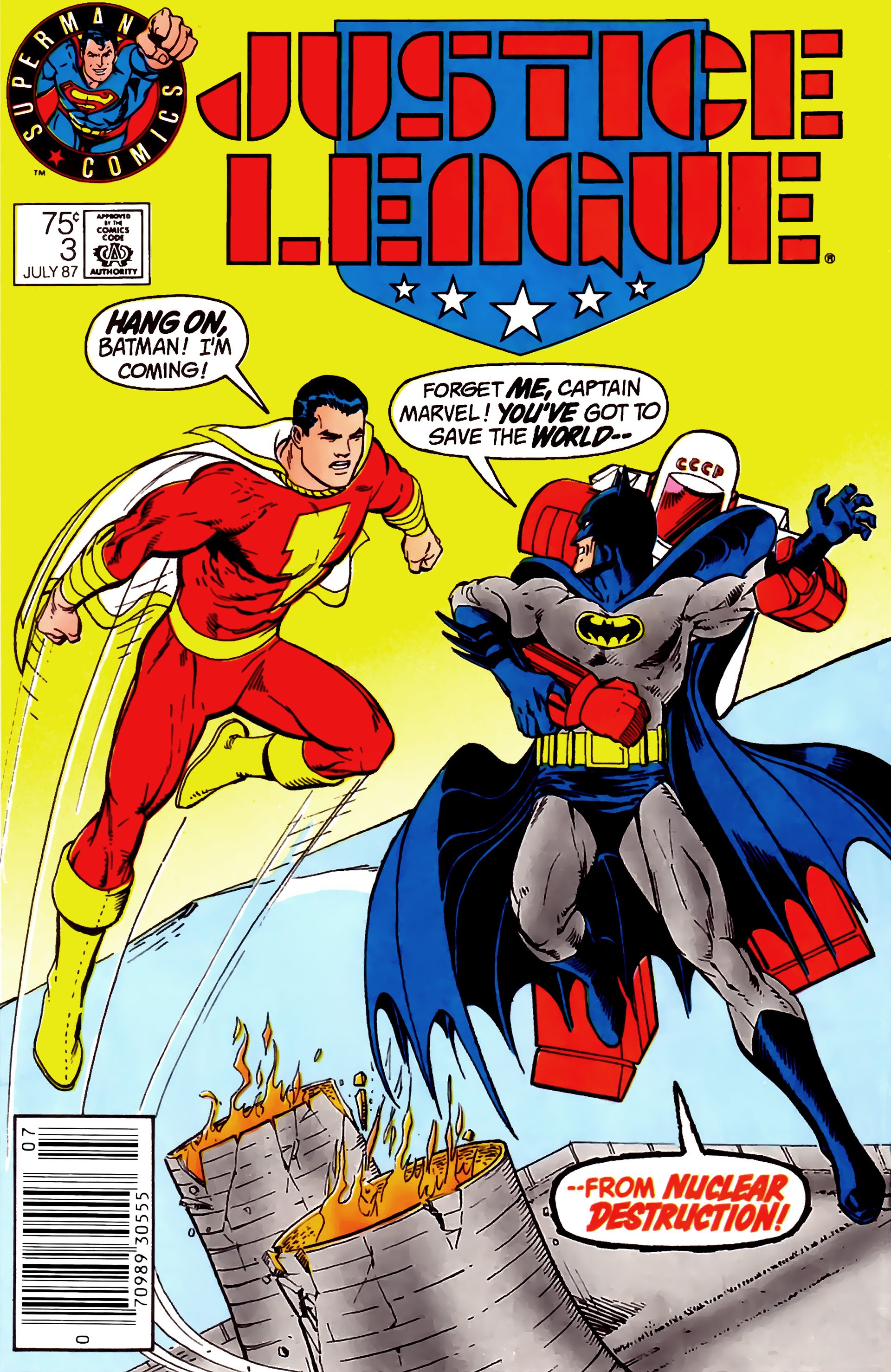 Read online Justice League (1987) comic -  Issue #3 - 2