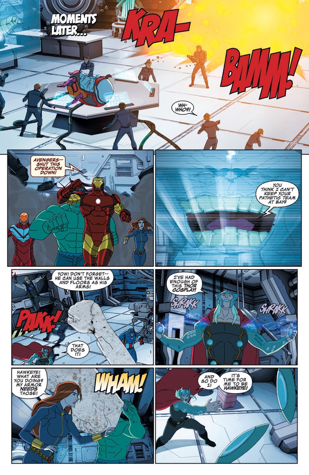 Read online Marvel Universe Avengers Assemble Season 2 comic -  Issue #8 - 25