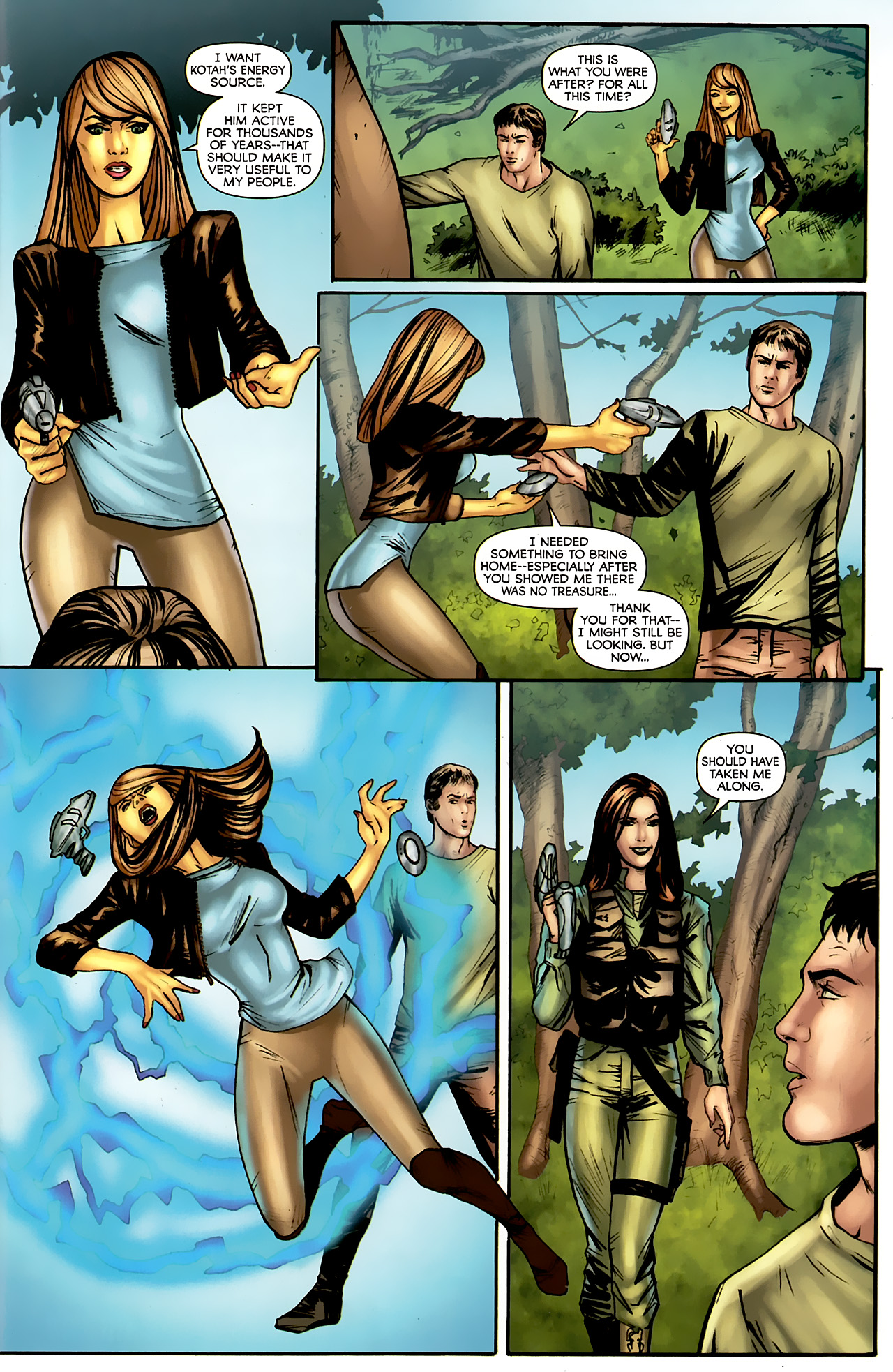 Read online Stargate: Daniel Jackson comic -  Issue #4 - 23