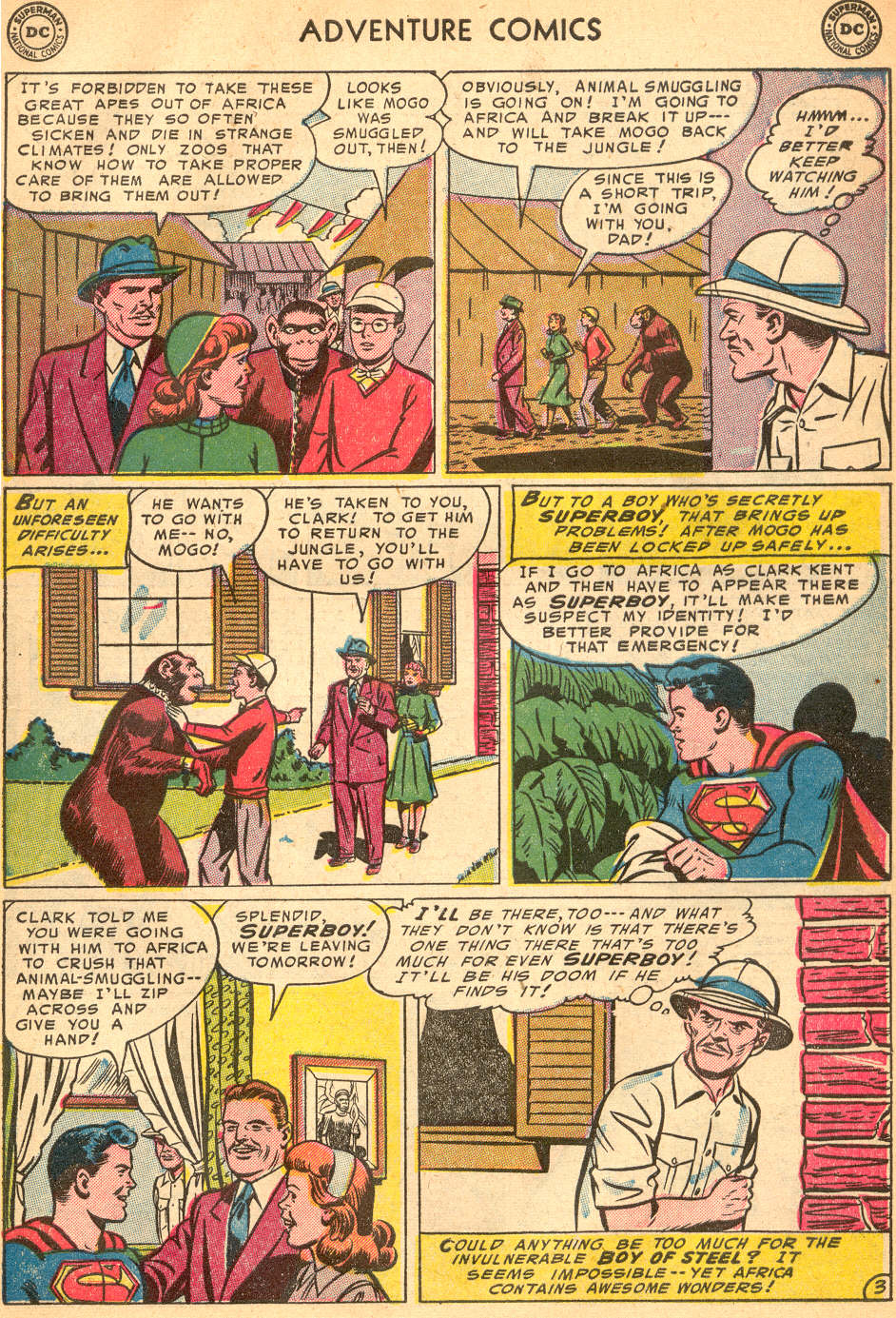Read online Adventure Comics (1938) comic -  Issue #200 - 5