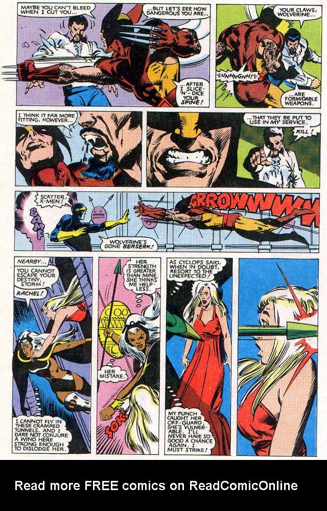 Read online Uncanny X-Men (1963) comic -  Issue # _Annual 6 - 33