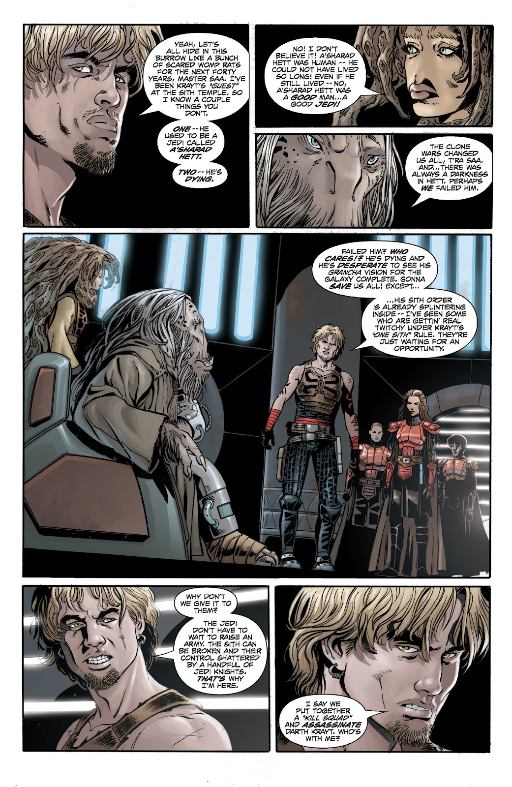 Read online Star Wars Legends: Legacy - Epic Collection comic -  Issue # TPB 2 (Part 2) - 64