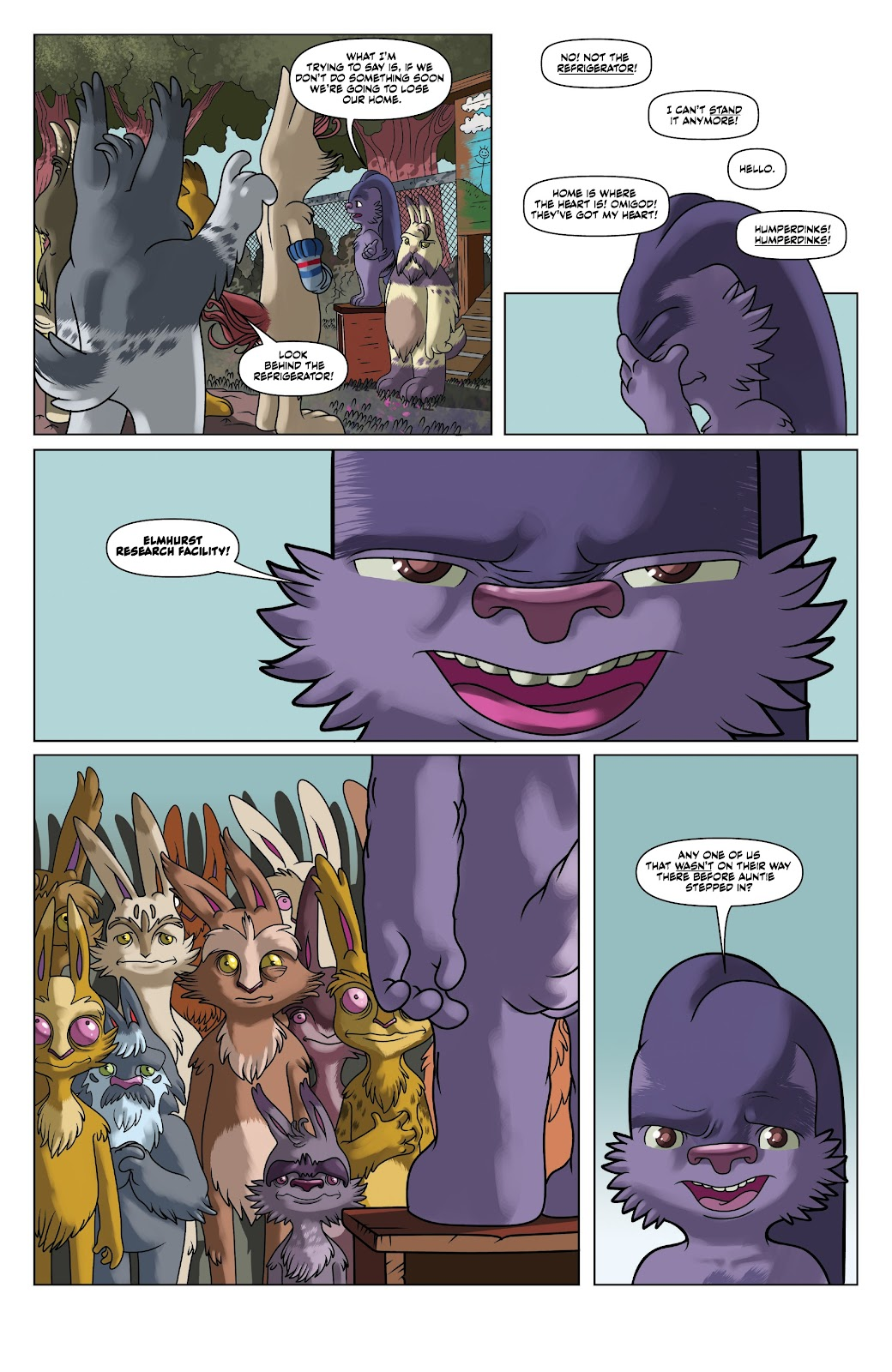 Read online Auntie Agatha's Home For Wayward Rabbits comic -  Issue #5 - 8