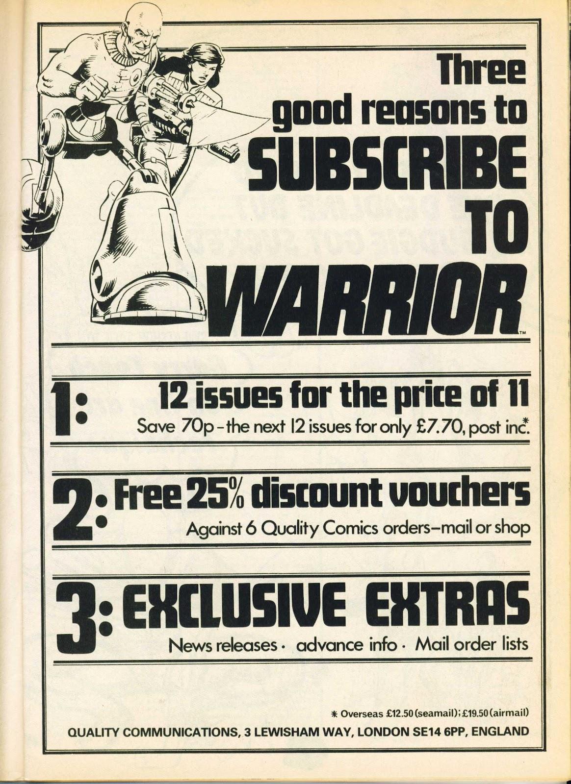 Warrior Issue #18 #19 - English 11