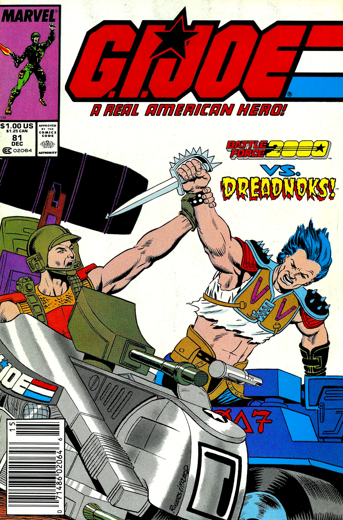 G.I. Joe: A Real American Hero 81 Page 1