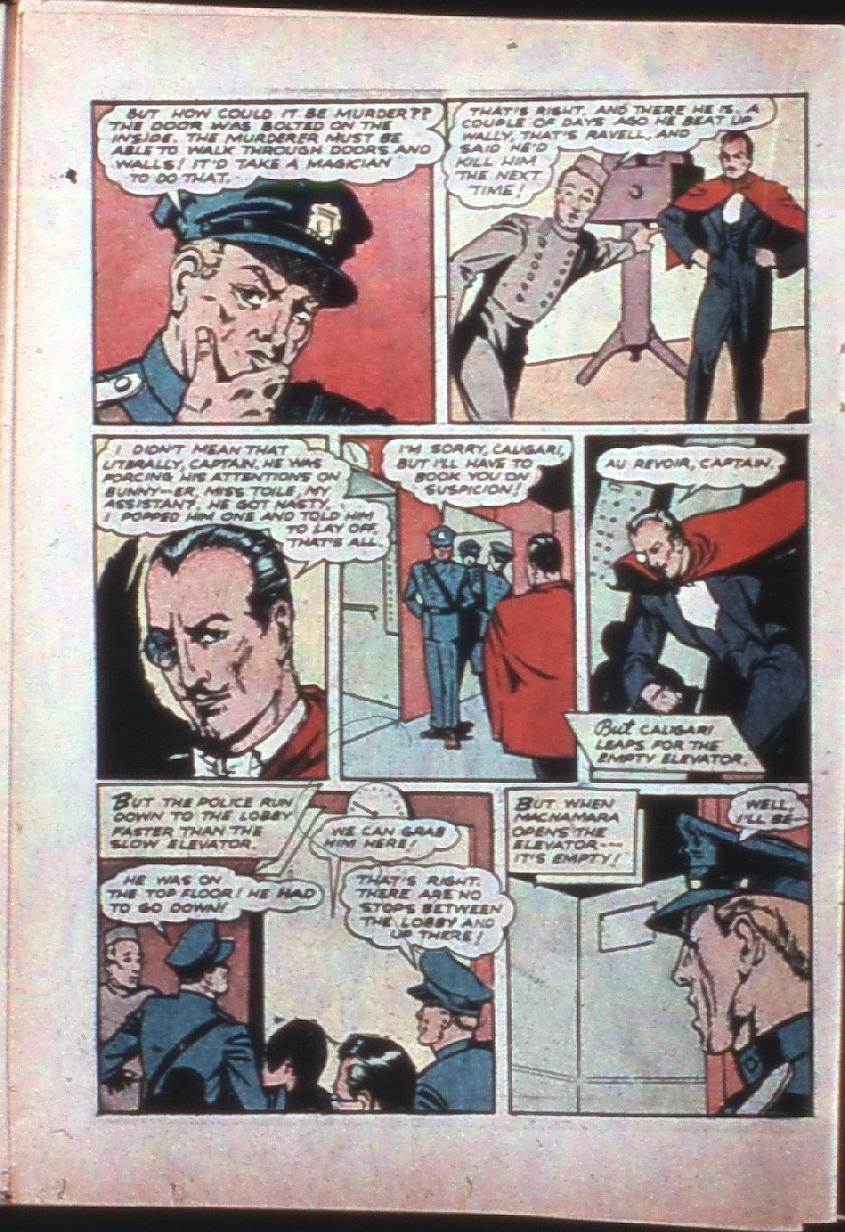 Read online Super-Magician Comics comic -  Issue #7 - 41