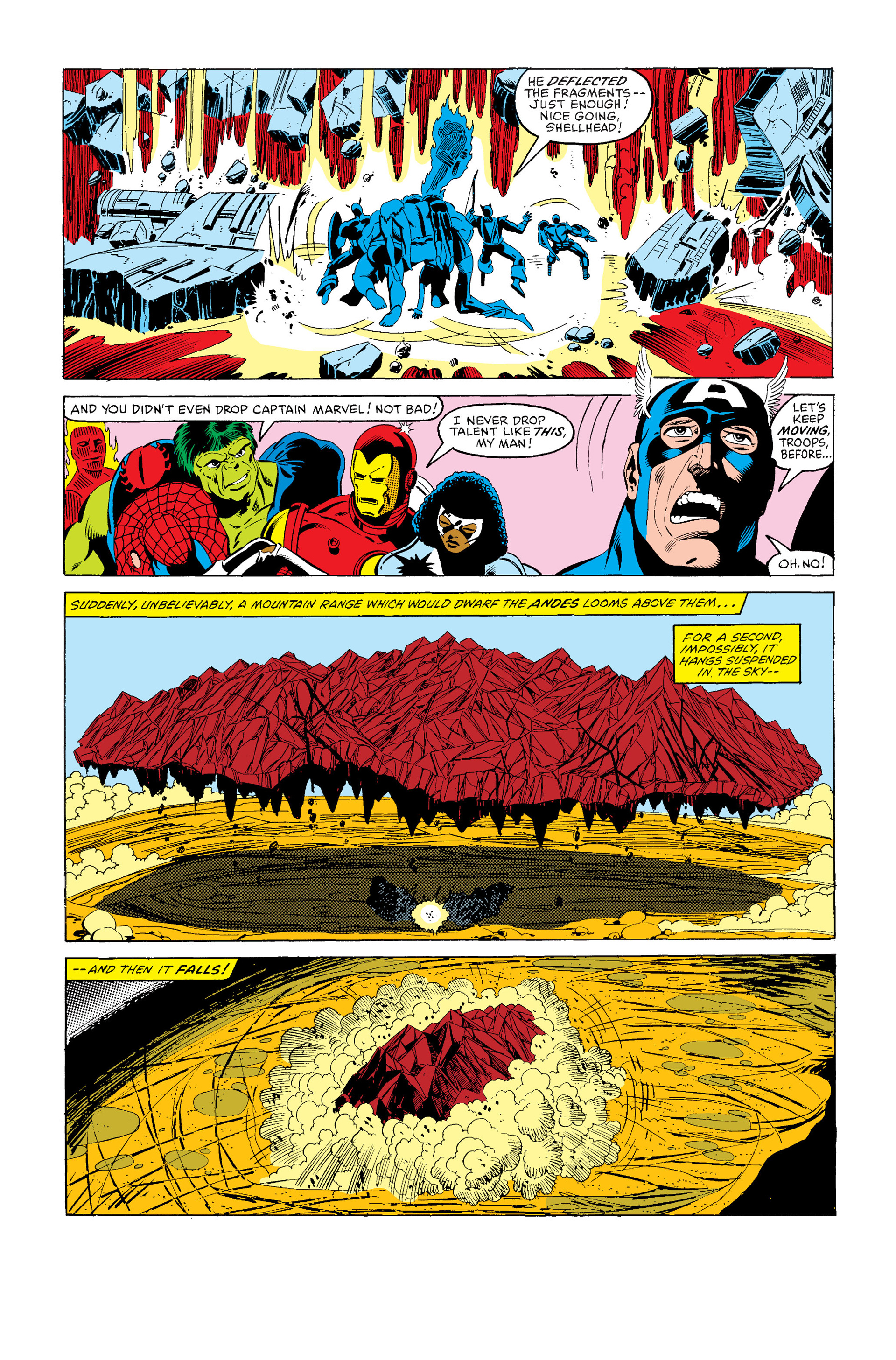 Read online Secret Wars (1985) comic -  Issue #4 - 7