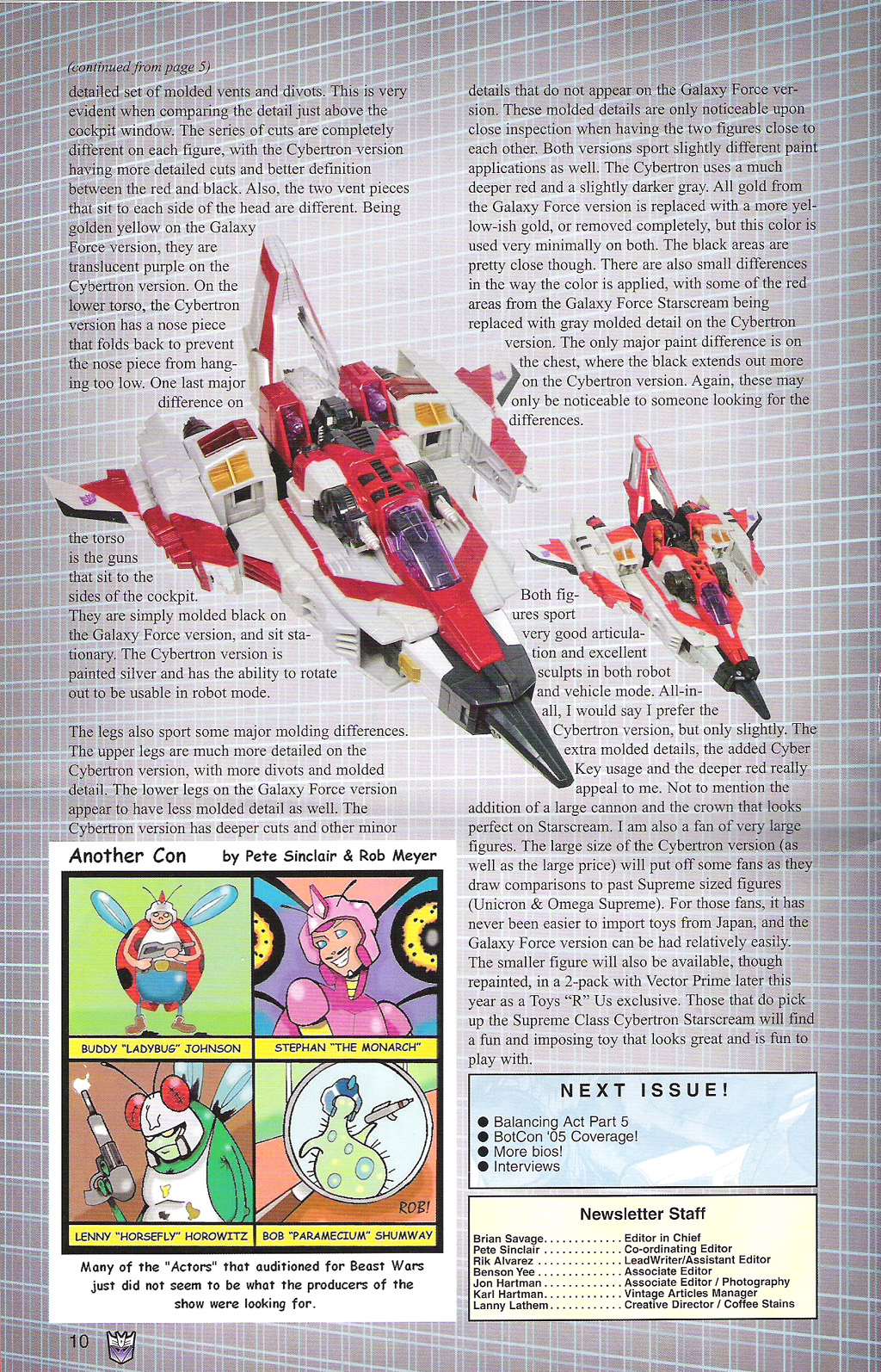 Read online Transformers: Collectors' Club comic -  Issue #5 - 10