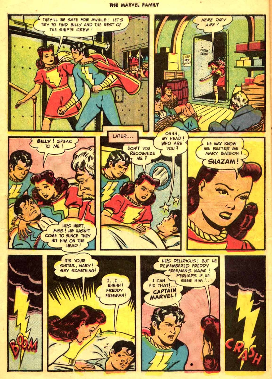 The Marvel Family issue 9 - Page 10
