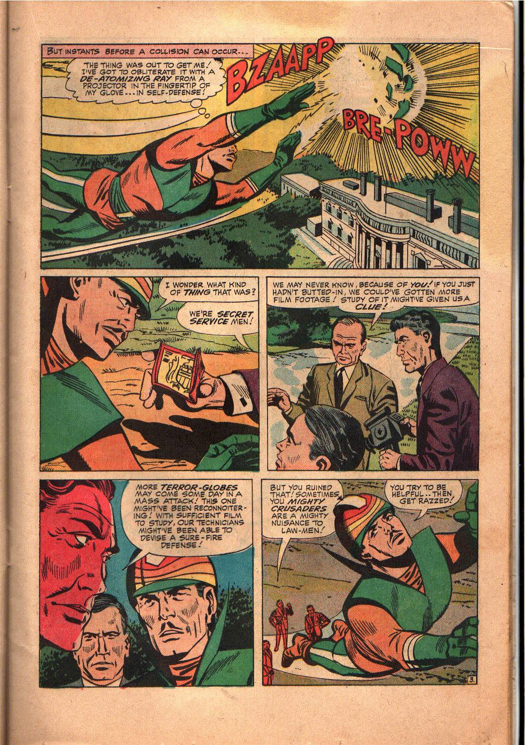 The Mighty Crusaders (1965) Issue #6 #6 - English 12