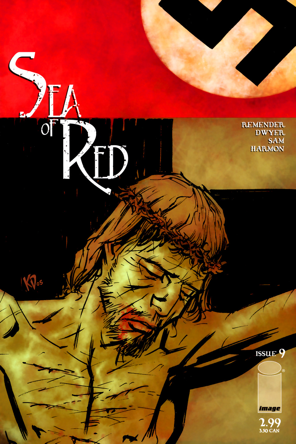 Read online Sea of Red comic -  Issue #9 - 1