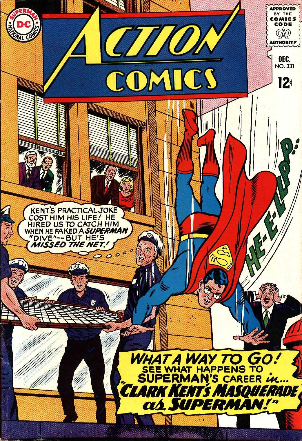 Action Comics (1938) 331 Page 1