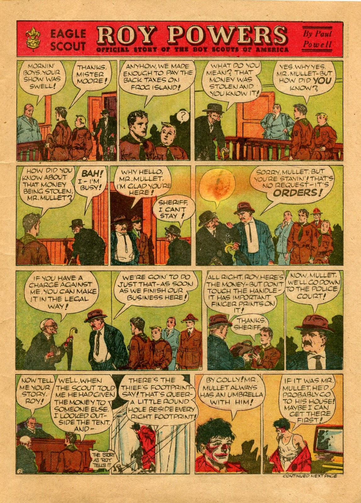 Read online Famous Funnies comic -  Issue #64 - 7