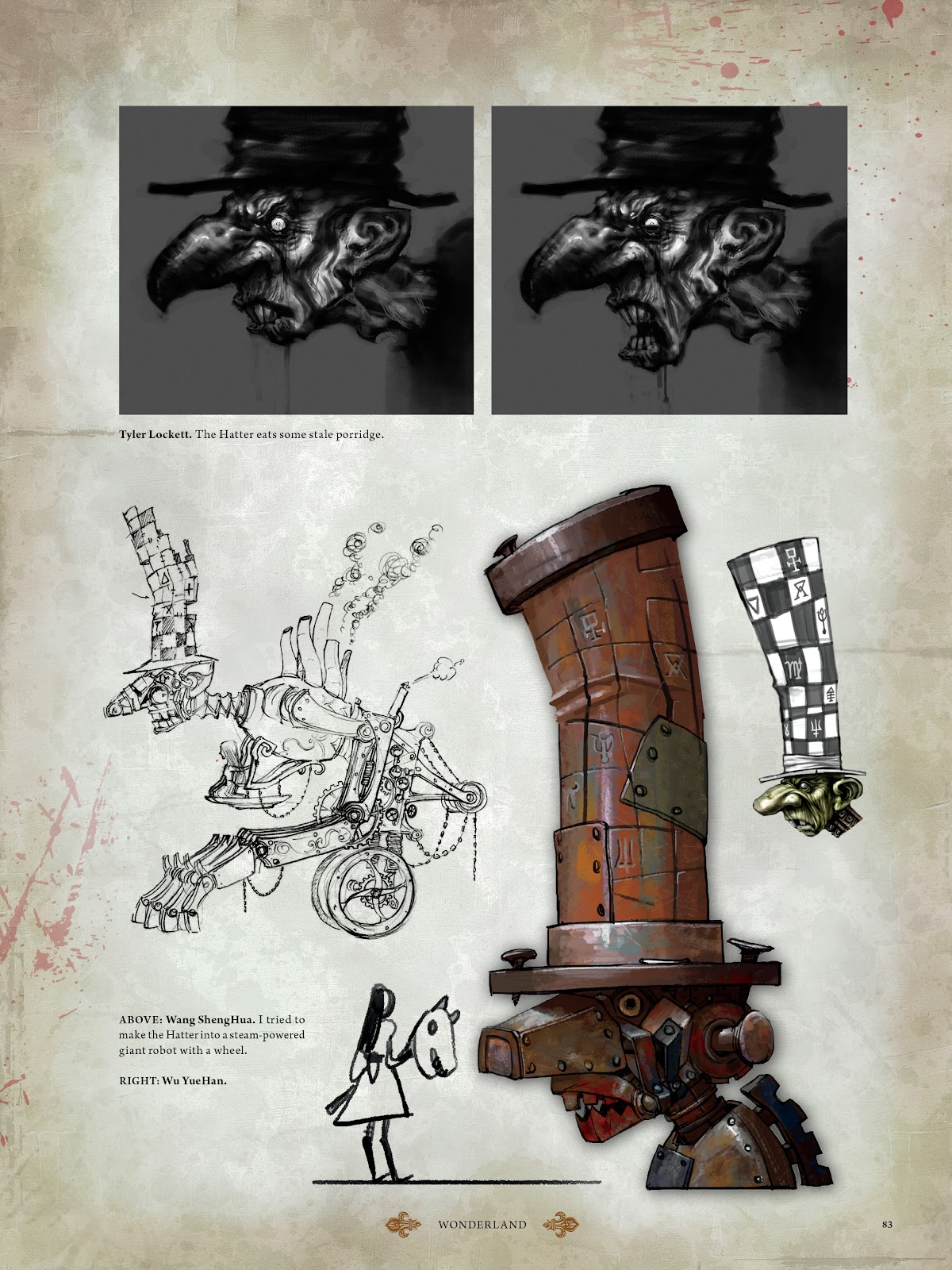 Read online The Art of Alice: Madness Returns comic -  Issue # TPB (Part 1) - 74