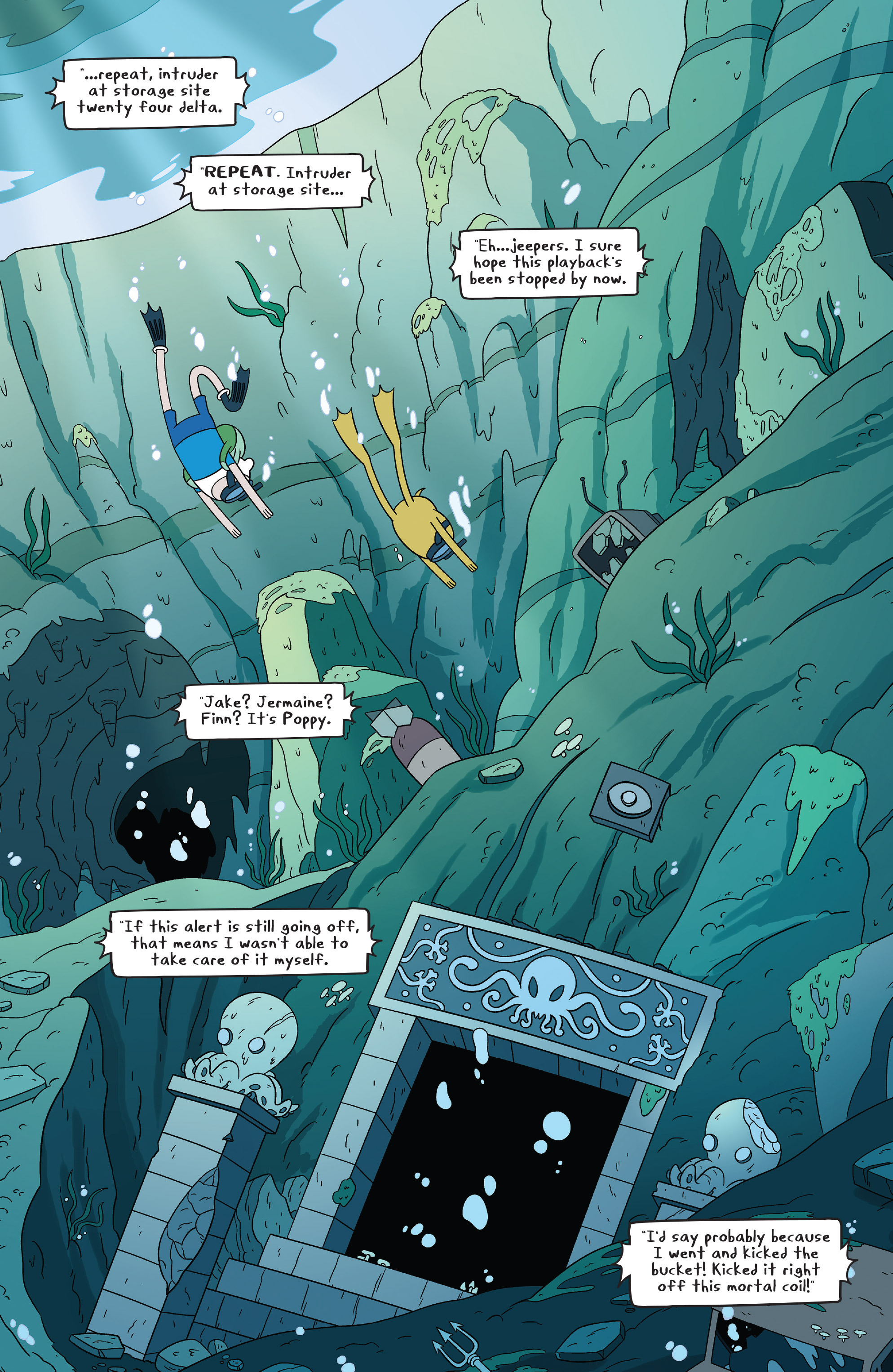 Read online Adventure Time comic -  Issue #46 - 3