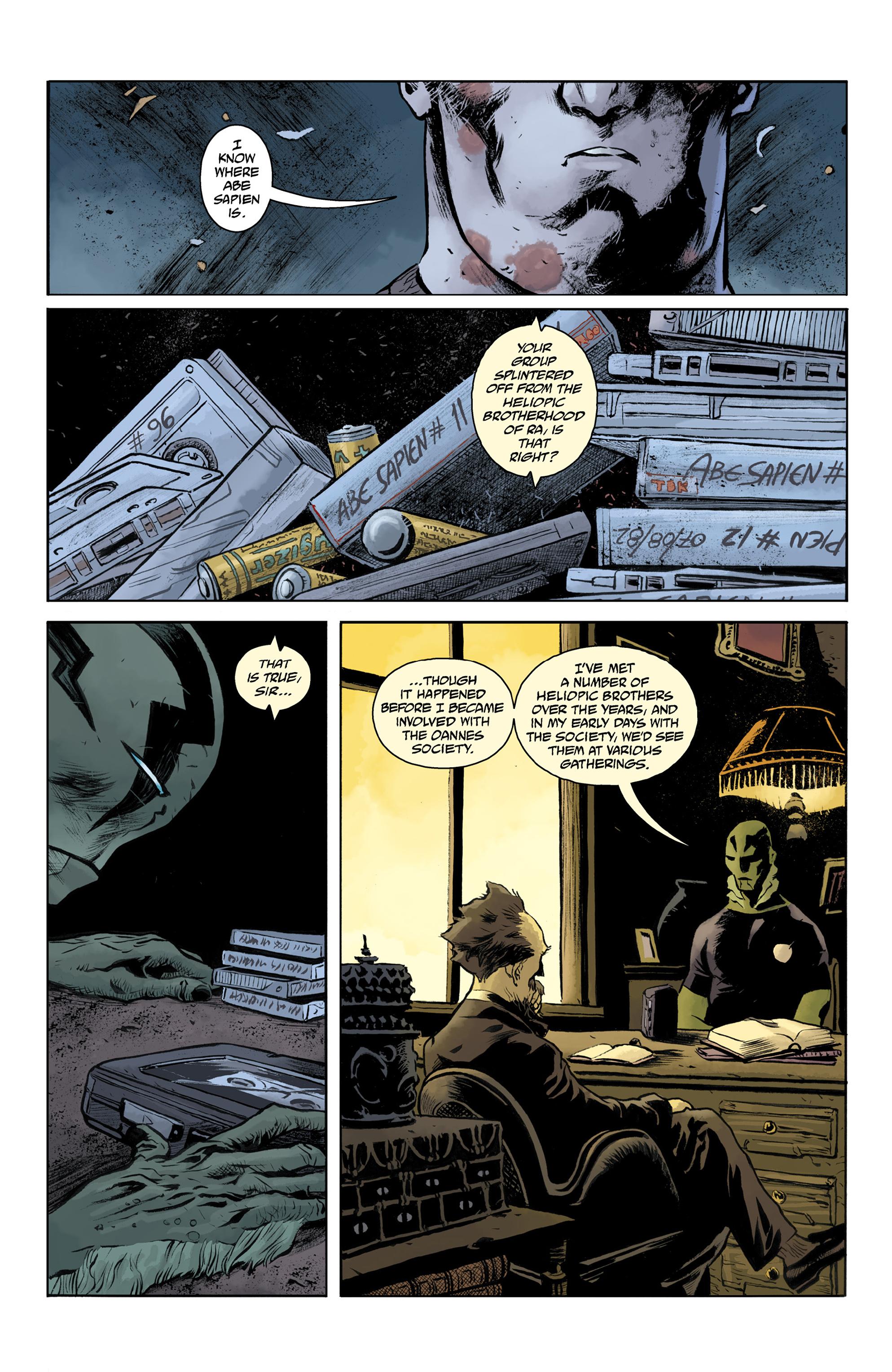Read online Abe Sapien comic -  Issue #32 - 18