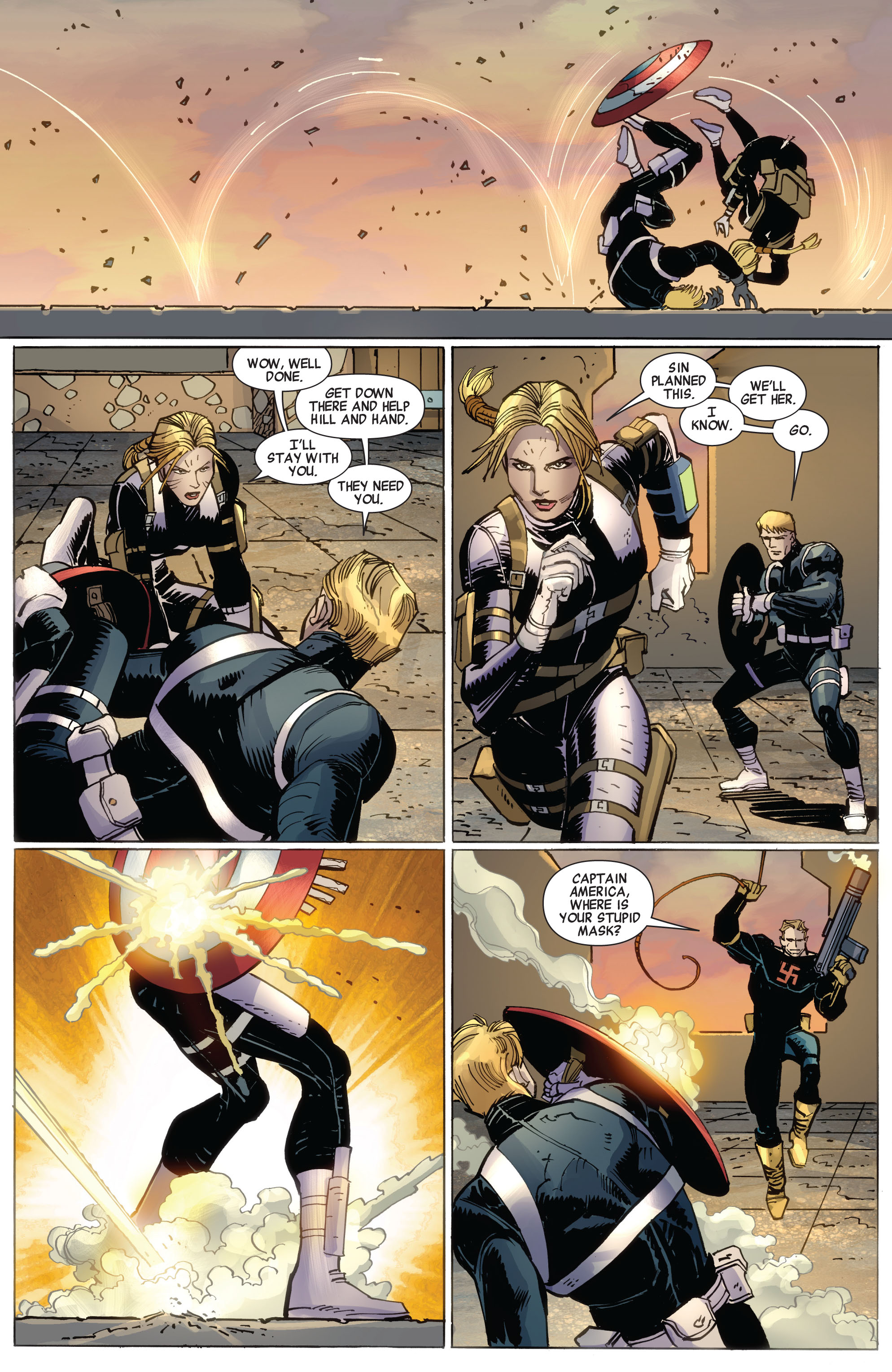 Read online Avengers (2010) comic -  Issue #16 - 17