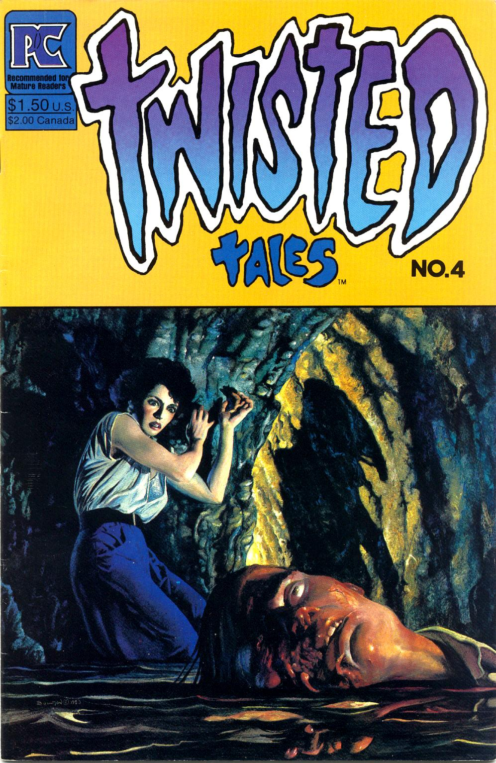 Read online Twisted Tales (1982) comic -  Issue #4 - 1