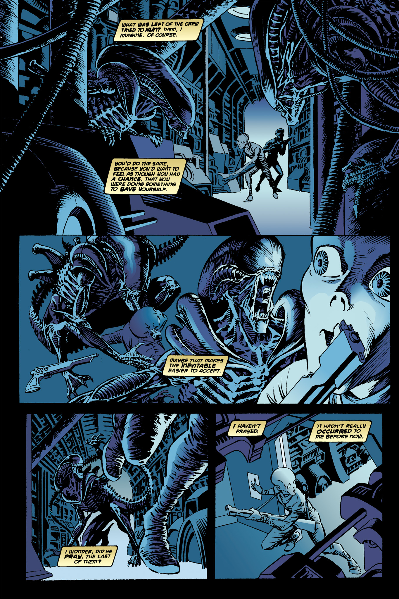 Read online Aliens: Incubation/Lucky/Taste comic -  Issue # Full - 12
