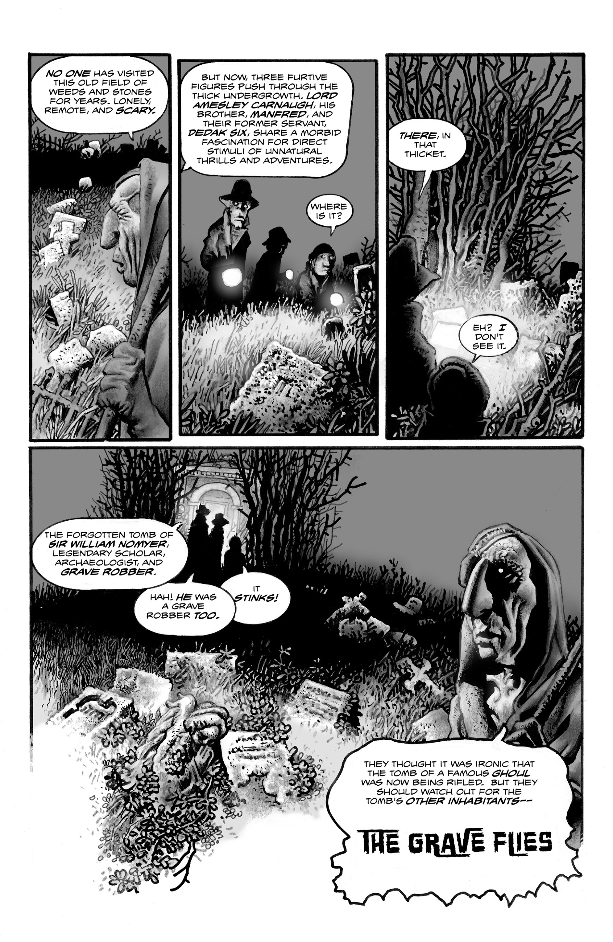 Read online Shadows on the Grave comic -  Issue #3 - 7