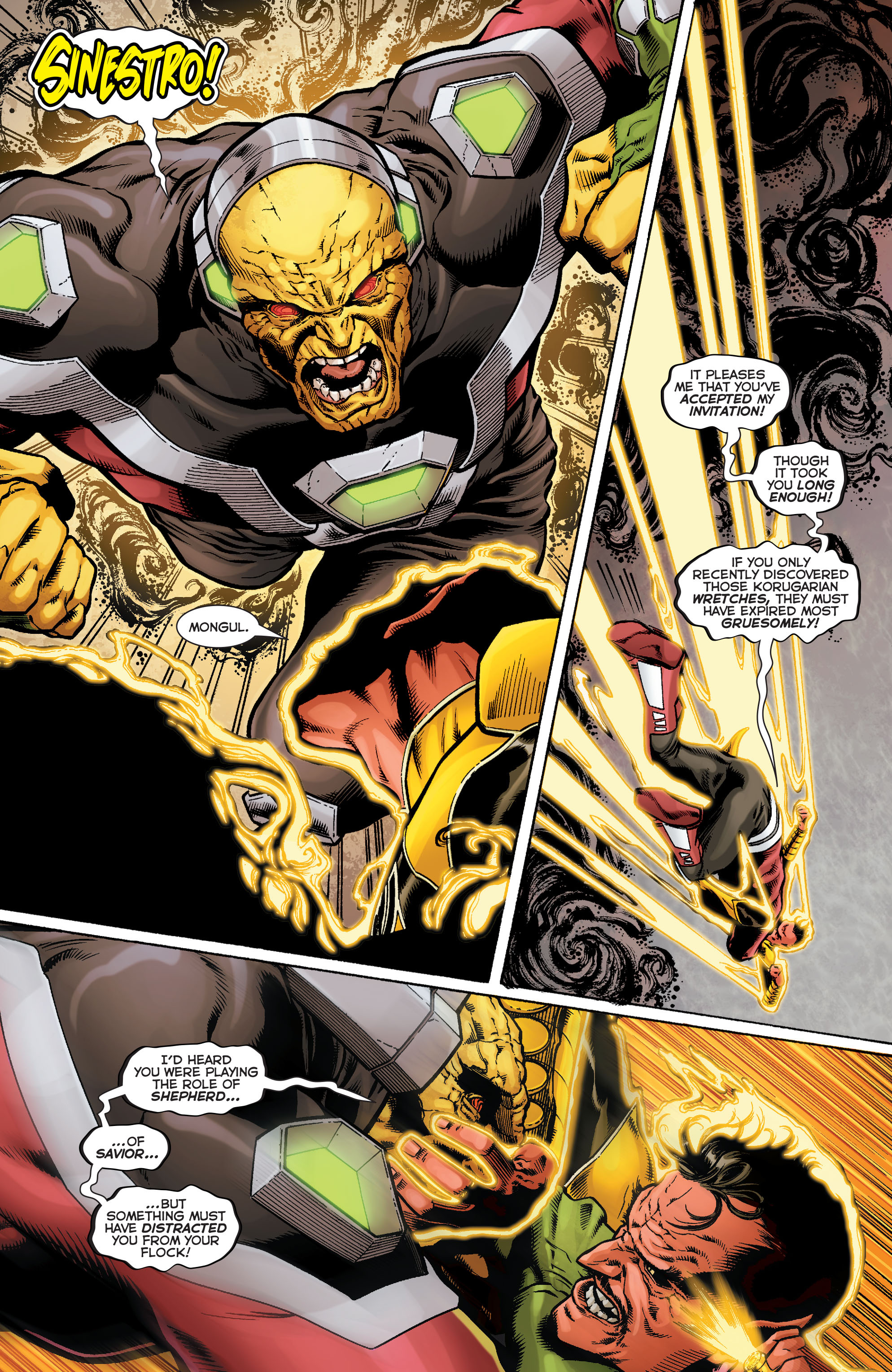 Read online Sinestro comic -  Issue #9 - 16