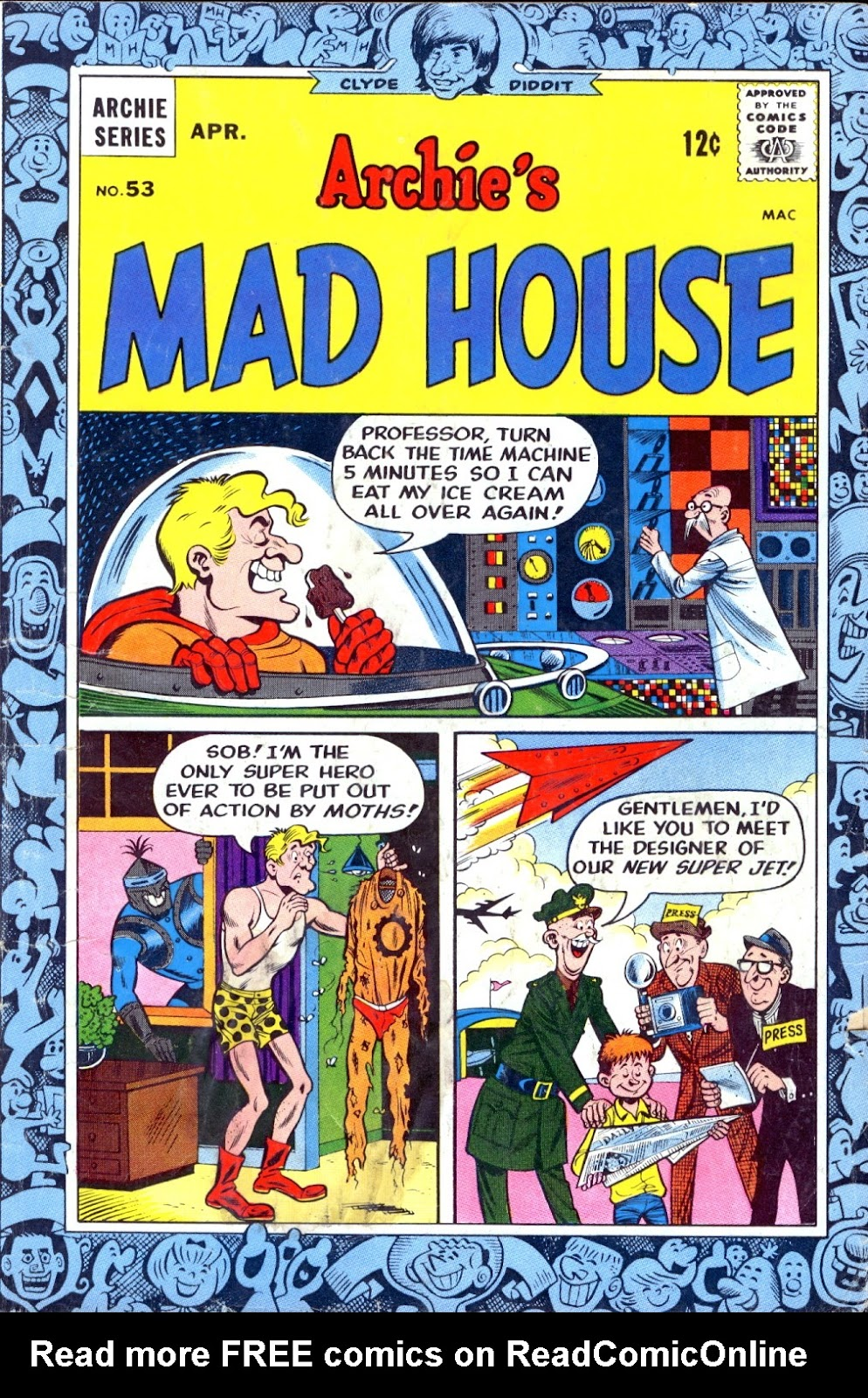 Archie's Madhouse issue 53 - Page 1