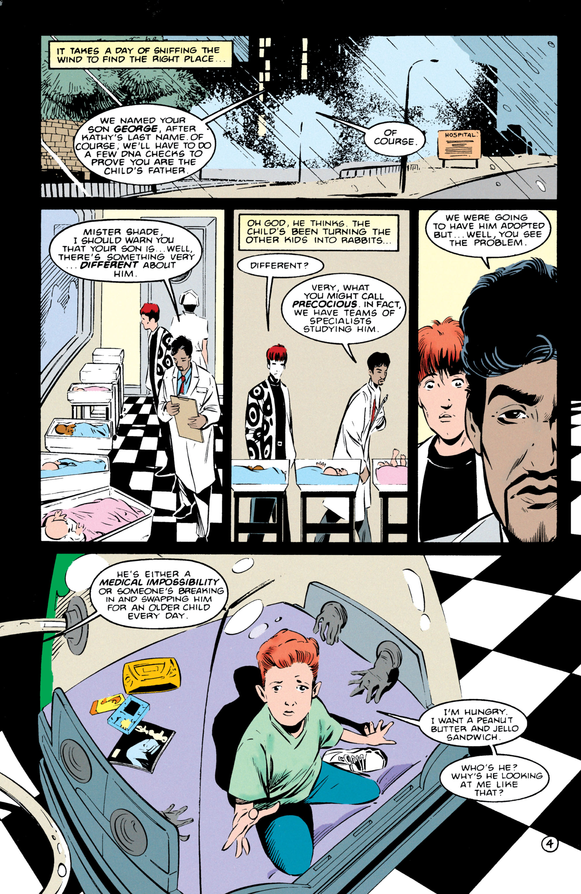 Read online Shade, the Changing Man comic -  Issue #55 - 5