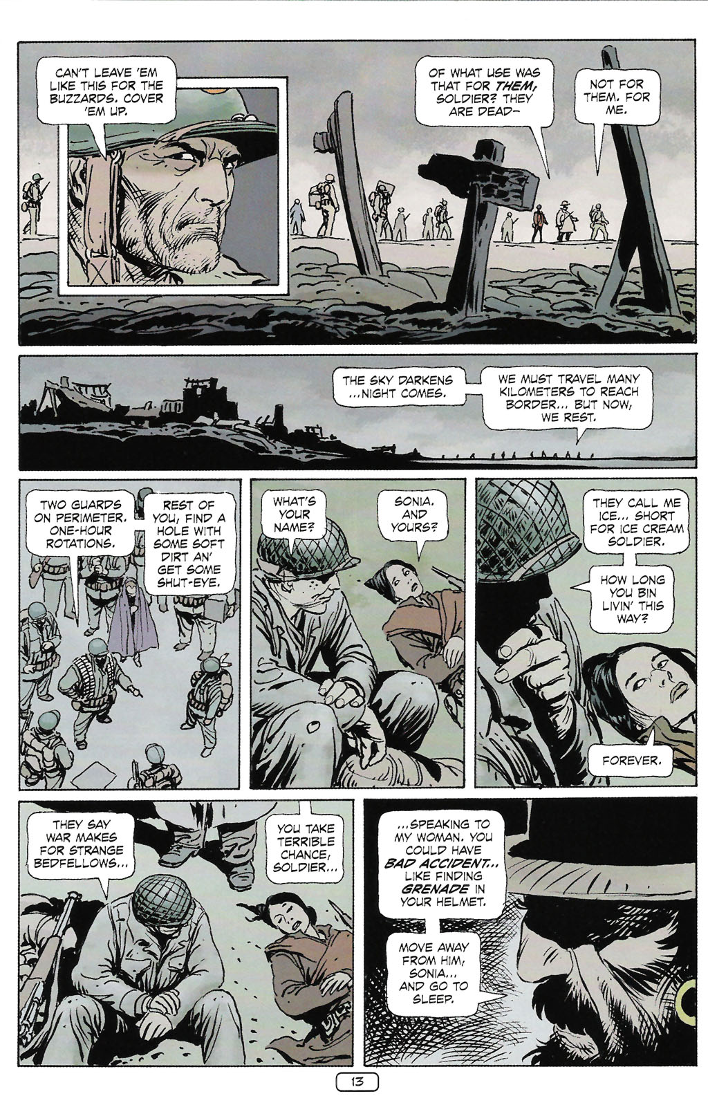 Read online Sgt. Rock: The Prophecy comic -  Issue #2 - 14