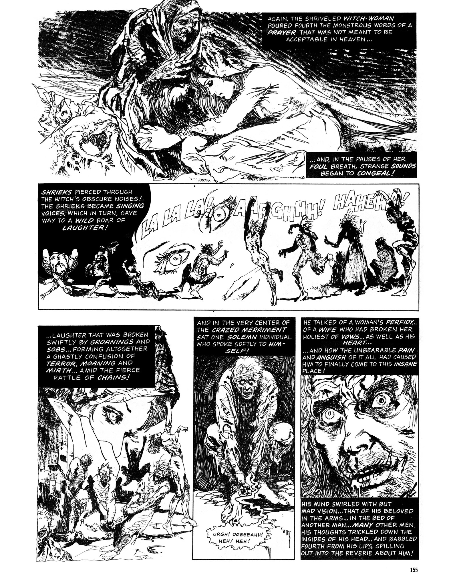 Read online Eerie Archives comic -  Issue # TPB 13 - 156